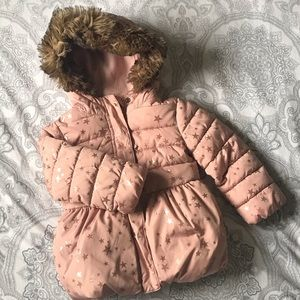 Girls Puffer Coat